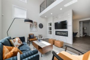 Main Living Area by City Homes Master Builder in Chapelle Showhome