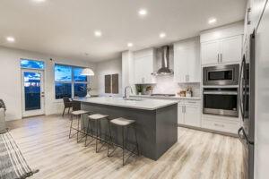 Kitchen design by Edmonton New Home Builder City Homes Master Builder
