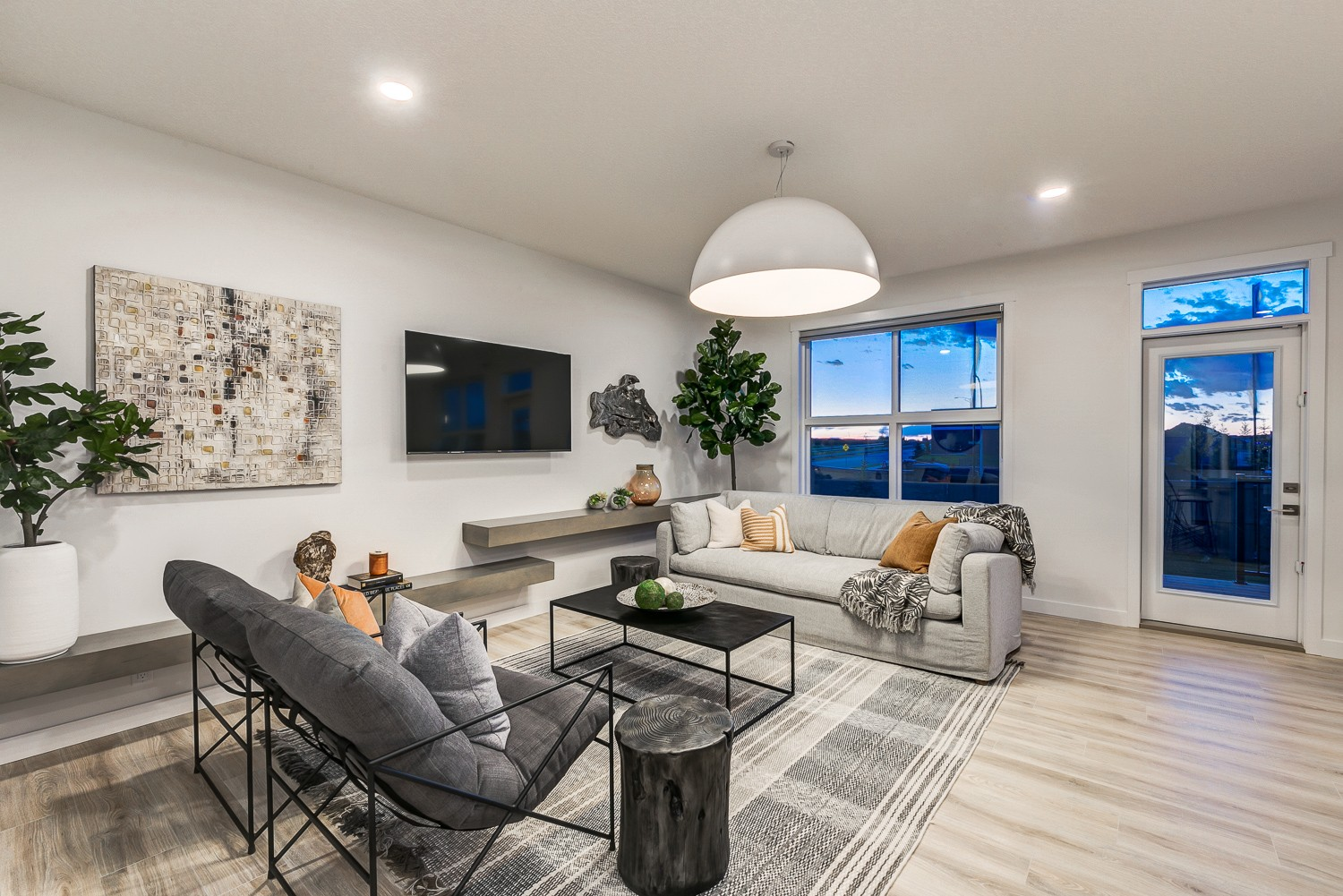 Edmonton New Home Builder Living Room Design
