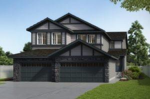 Duplex model by Edmonton New Home Builder City Homes Master Builder