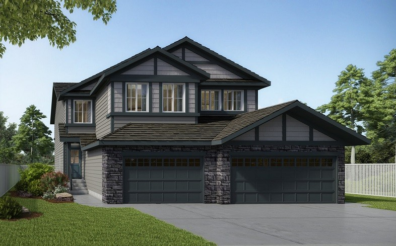New Duplex by City Homes Master Builder in Edmonton