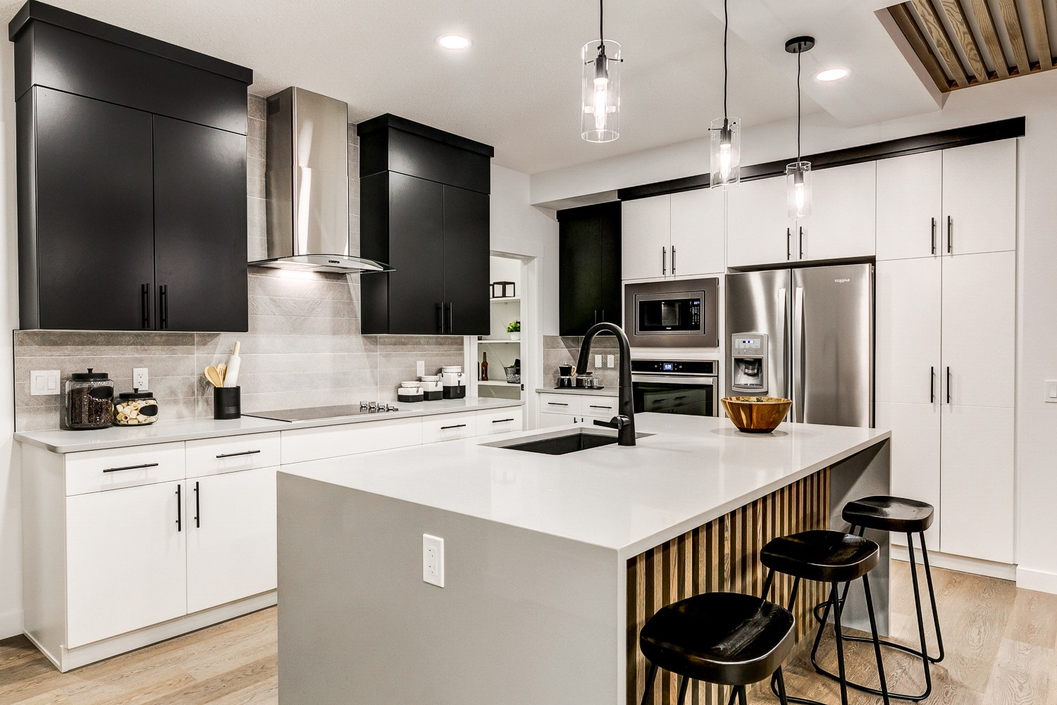 Kitchen designed by Edmonton's Best New Home Builder