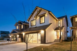 Exterior photo of single family home by Edmonton's best home builder