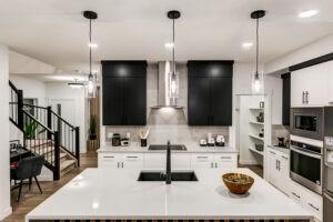 Kitchen Layout by Home Builder in Edmonton