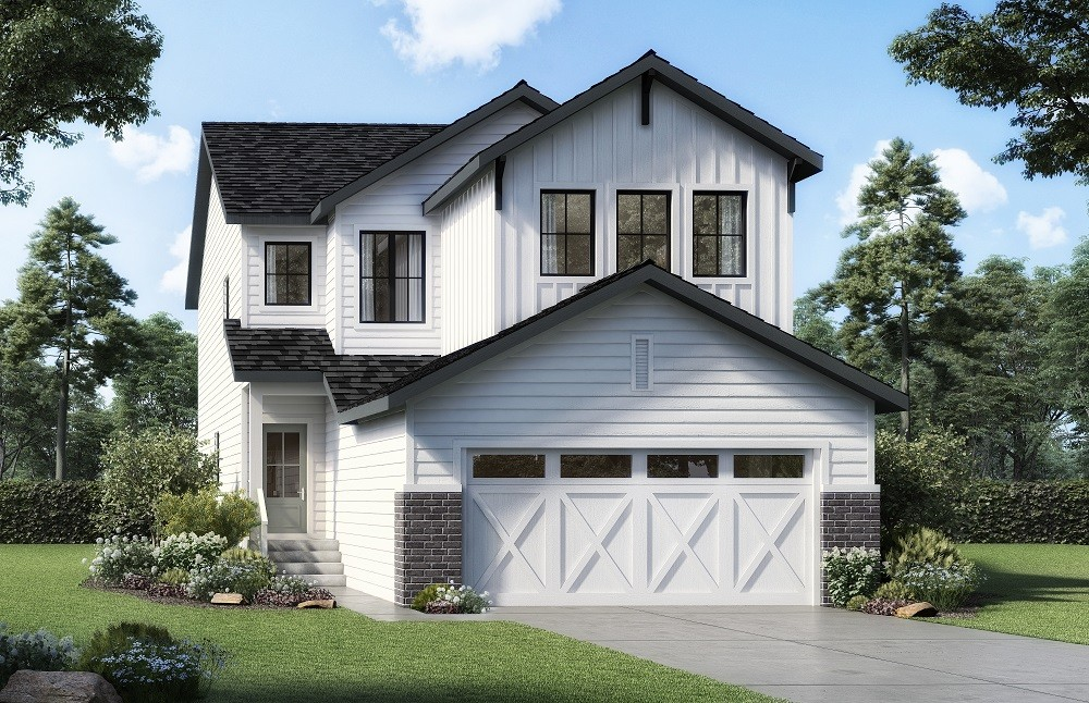 Rendering of a single family home build by new home builder City Homes Master Builder