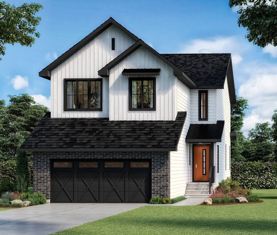 Rendeing of Single Family Home Build by Edmonton's Best Home Builder