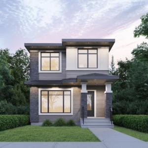 Rear Detached Home Built By Edmonton New Home Builder City Homes Master Builder